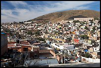 Panoramic view of the town. Zacatecas, Mexico ( color)