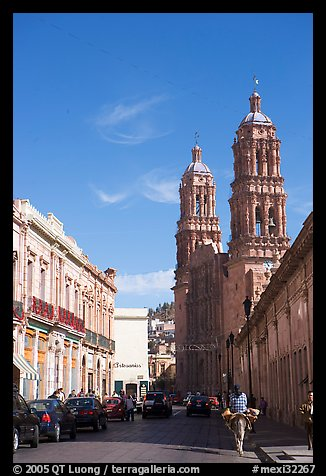 Cathedral, morning. Zacatecas, Mexico (color)