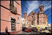 Santo Domingo Church, late morning. Zacatecas, Mexico