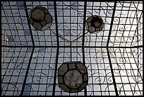 Glass roof of Gonzalez Ortega Market. Zacatecas, Mexico