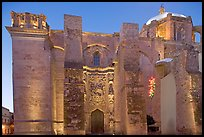 The former St Augustine church at dawn. Zacatecas, Mexico ( color)