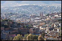 View of the town, morning. Zacatecas, Mexico ( color)