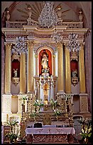 Main altar of Church Santo Domingo. Zacatecas, Mexico