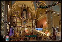 Altar and nativity. Guanajuato, Mexico