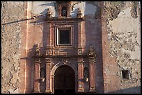 Facade of San Roque church, early morning. Guanajuato, Mexico (color)