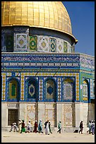 Dome of the Rock. Jerusalem, Israel (color)