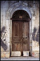 Door. Jerusalem, Israel (color)