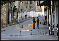 Checkpoint, Hebron. West Bank, Occupied Territories (Israel) ( color)