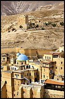 Mar Saba Monastery in the Judean Desert. West Bank, Occupied Territories (Israel) (color)