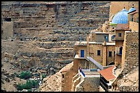 Greek Orthodox Mar Saba Monastery. West Bank, Occupied Territories (Israel) (color)