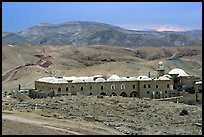 Nabi Musa Monastery in the Judean Desert. West Bank, Occupied Territories (Israel)