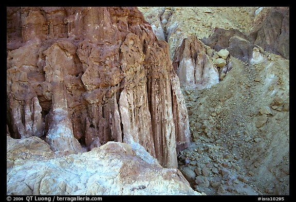 Rock Pillars near Eilat. Negev Desert, Israel (color)
