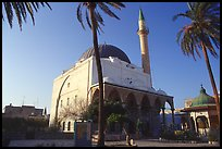 Mosque of El-Jazzar Pasha, Akko (Acre). Israel ( color)
