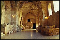 Subtaerranean Crusader City, Akko (Acre). Israel ( color)