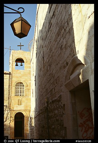 Church, Safed (Tzfat). Israel (color)