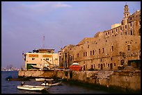 Waterfront along old city, Jaffa, Tel-Aviv. Israel ( color)