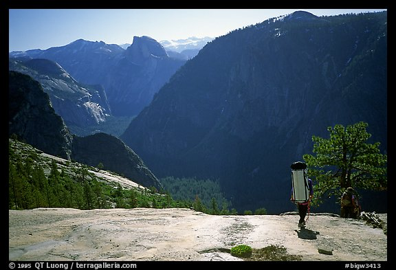 There is still the descent.... El Capitan, Yosemite, California