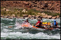 Rafting whitewater rapids. Grand Canyon National Park, Arizona ( color)