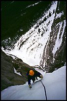 Climbing Kitty Hawk. Canadian Rockies