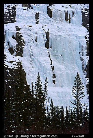 Lower Weeping Wall. Canada (color)