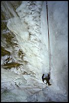 Climbing in  Provo Canyon, Utah