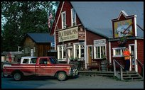 Dowtown Talkeetna. Alaska (color)
