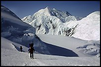 Up to the 14300 camp again. Denali, Alaska
