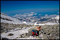 Exceptionnally warm conditions at Windy Corner. Denali, Alaska (color)