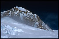 Lower section of West Buttress of Mt McKinley. Denali National Park ( color)