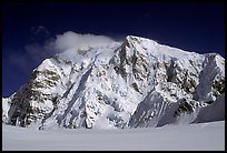 North Face of Mt Hunter. Denali National Park, Alaska, USA. (color)