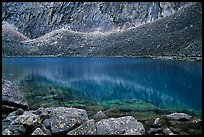 Lake I in Aquarius Valley near Arrigetch Peaks. Gates of the Arctic National Park ( color)