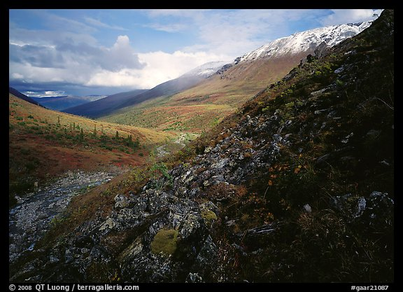 Arrigetch Valley. Gates of the Arctic National Park, Alaska, USA.