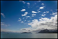 Drake Island and Francis Island. Glacier Bay National Park, Alaska, USA. (color)