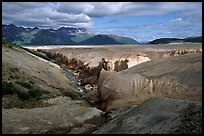 Lethe river, Valley of Ten Thousand smokes. Katmai National Park ( color)
