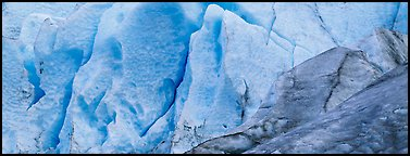 Ice close-up, Exit Glacier. Kenai Fjords National Park, Alaska, USA.