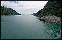 Harris Bay, Northwestern Fjord. Kenai Fjords National Park, Alaska, USA.
