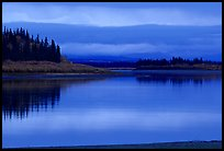 Dusk on the Kobuk River. Kobuk Valley National Park, Alaska, USA. (color)