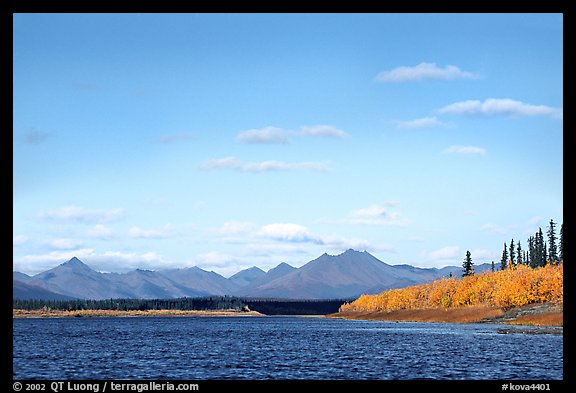 River and Baird mountains. Kobuk Valley National Park (color)
