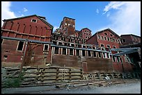 Historic Kennecott Mill. Wrangell-St Elias National Park, Alaska, USA. (color)