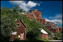 Kennecott mill town. Wrangell-St Elias National Park, Alaska, USA. (color)