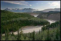Kuskulana river. Wrangell-St Elias National Park, Alaska, USA.