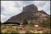 Chisos Mountain Lodge. Big Bend National Park, Texas, USA. (color)
