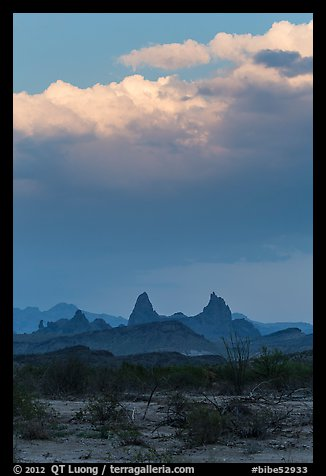 Mules Ears. Big Bend National Park (color)