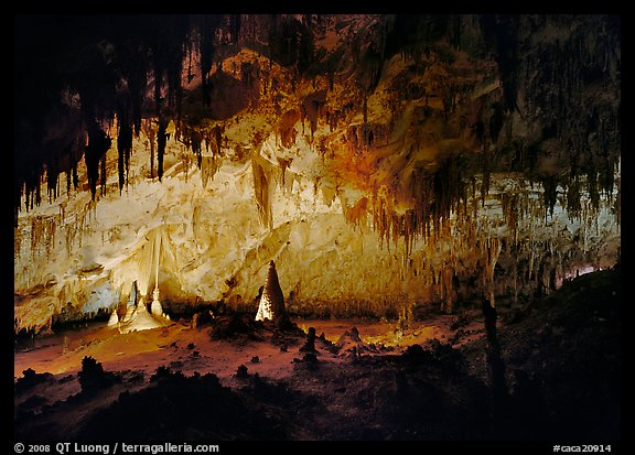 Papoose Room. Carlsbad Caverns National Park (color)