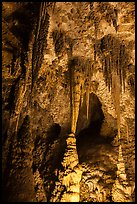 Chinese Theater. Carlsbad Caverns National Park ( color)