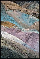 Artist's palette. Death Valley National Park ( color)