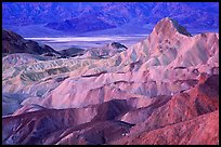 Zabriskie point, dawn. Death Valley National Park, California, USA. (color)