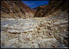 Mosaic Canyon. Death Valley National Park, California, USA. (color)