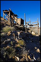 Cashier's mine, afternoon. Death Valley National Park, California, USA. (color)