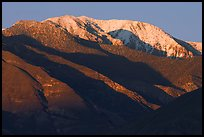 Telescope Peak at sunset. Death Valley National Park ( color)